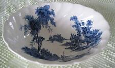 "Johnson Brothers The Old Mill 7"" X 8.75"" Oval Vegetable Bowl Made in England"