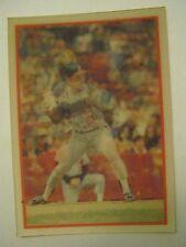 1986 Sportflics #109 Brook Jacoby Magic Motion Baseball Card  (GS2-b23)