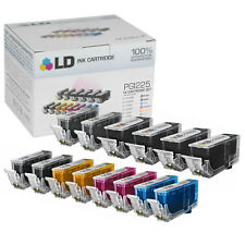 LD 14 Pack PGI225 CLI226 Black Color Ink Cartridge Set for Canon Printer