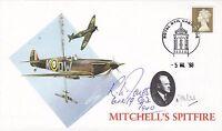 Mitchell's Spitfire Cover Signed R.L.Jones 64 & 19 Sqns Battle of Britain Pilot
