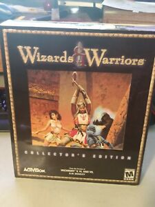 Wizards & Warriors (PC, 2000) Collectors Edition Activision