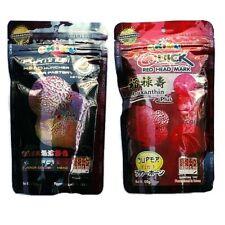 Okiko Cichlid Flowerhorn Fish Food Quick Red Platinum 2 XL Floating Pellet 100g