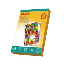 "KODAK MATTE A4 ""210 x 297mm"" PHOTO PAPER (100 SHEETS) 120G/M - NEW/SEALED"