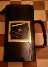 John player spezial wasser whisky krug vase pdm Schwarz Retro Werbe