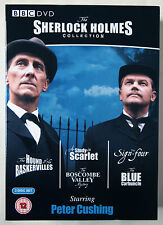 THE SHERLOCK HOLMES COLLECTION / PETER CUSHING / 3 DISC BOX SET / BBC 2004 RGN 2