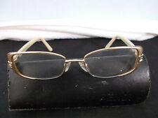 Vintage Women's Fendi Glasses F944 52-17 714-135 315 W/ Vintage Twist Open Case