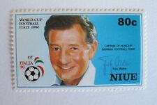 NIUE - ITALIA '90 - Captain Of Honour German Football Team Fritz Walter 80c NEW