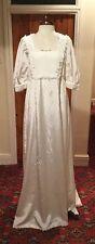 VINTAGE REGENCY STYLE IVORY WEDDING DRESS