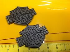 NEW OEM Genuine Harley Fuel Tank  Emblems Badges Dyna Sportster Softail Street