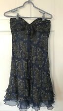 Laundry By Shelli Segal Blue Dress, Size 4