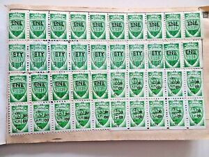 Green Shield Stamps With Stamp Saver Books COMPLETE The Co-Operative Co-Op Coop