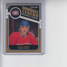 11/12 OPC Montreal Canadiens Claude Lemieux Marquee Legend card #523
