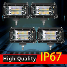 4x 5Inch LED Off Road Work Light Bar Spot Flood Driving Fog Lights For Dodge Ram