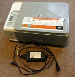 HP C3140 All In One Color Printer Scanner Copier Hewlett-Packard Inkjet