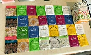 Herbal Tea Selection - 30 Bags - PUKKA Organic NEWBY Teas BULK LOT