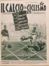 IL CALCIO ILLUSTRATO N 37 1957 BOLOGNA UDINESE ALESSANDRIA LANEROSSI PADOVA ROMA