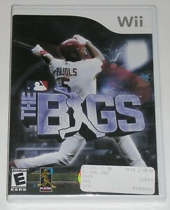 Nintendo Wii Video Game - The Bigs (New) 2K Sports baseball