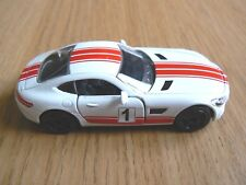 Majorette 232E  MERCEDES AMG GT  white 1:60  new