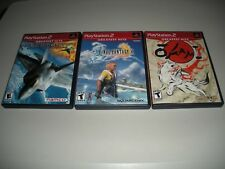Ace Combat 4, Final Fantasy X, Okami (Playstation 2 Greatest Hits)