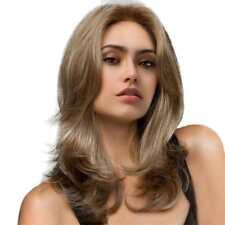 22'' Perruque Femmes Blonde Longs Naturel Ondulé en Cheveux Synthétique