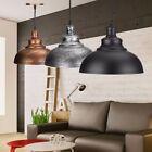 Iron Vintage Retro Ceiling Light Pendant Lamp Shade Industrial Loft Chandelier