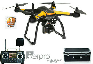 Aerpro Professional 1080p Inspection Drone Full HD Camera, Accurate GPS *RFB*