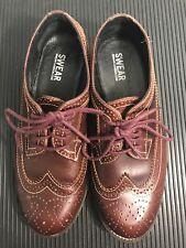 Swear-London Chaplin Wingtip Burgundy Dress Shoe.Size 9.5 Men's