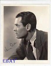 Henry Fonda autograph VINTAGE Photo Let Us Live