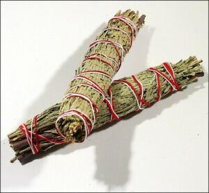 Cedar Smudge Stick with Organza Bag
