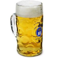 Hofbrauhaus Official Oktoberfest Stein Glass 35oz / 1ltr - Beer Tankard