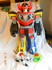 "Mighty Power Rangers Morphin Megazord 2015 Large 27"" Robot Toy Fort & Others"