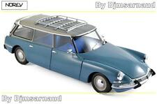 Citroën ID 19 Break de 1967 Monte Carlo Blue NOREV - NO 181591 - Echelle 1/18