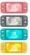 Nintendo Switch Lite 32GB Handheld Video Game Console NEW Yellow Gray Turquoise