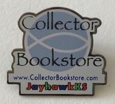 Lapel Pin Collector Bookstore JayhawkKS Ad Souvenir Enameled Metal