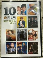 New 10 Film Best of the '90s Vol. 1 (Dvd, Rush Hour, Friday, Matrix, Goodfellas)