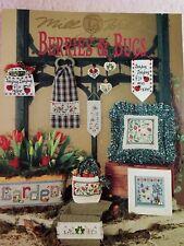 Mill Hill Cross Stitch Chart: Berries & Bugs