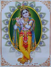 Lord Shri Krishna - POSTER (Normal Paper, 8.5 x 11 Inches)