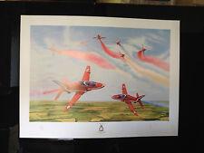 RAF AEROBATIC TEAM - 40th DISPLAY SEASON - LIMITED EDITION PRINT