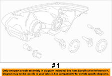 FORD OEM 2015 Transit-150-Headlight Assembly CK4Z13008DA