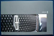 Prospekt brochure 2018 Lincoln Navigator * Continental * MKZ * MKC (USA)