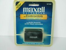 Maxell M7206 7.4 Volts 1700 mAh rechargeable battery for camcorders NIP