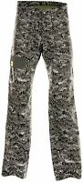 Draggin Jeans Drayko Optix Grey Cargo Motorcycle Trousers New RRP £164.99