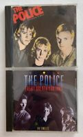 1980's THE POLICE CD LOT Outlandos D'Amour & Every Breath You Take A&M Records