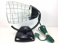 Vintage General Electric Cage Lamp Theralux Infrared Portable Heat Lamp USA