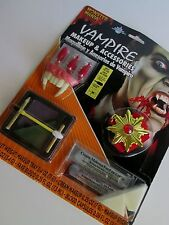 VAMPIRE Costume ACCESSORIES & MAKEUP Fangs Medallion DRACULA Blood Capsules