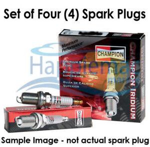 Champion Evinrude E tec Spark Plug 7919 QC10PEPB - Set of 4