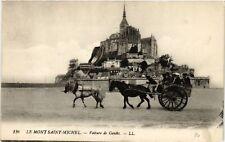 CPA  Le Mont-Saint-Michel - Voiture de Genéts  (632727)