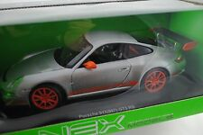 1/18 Welly Porsche 911 GT3 RS 997 gris #18015W