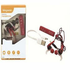 NEW Wireless Sport Bluetooth 4.2 Earbud Earphones With Mic & Phone Camera Remote
