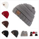 USA Toddler Girl Boy Baby Winter Warm Crochet Knit Hat Children Ski Beanie Cap